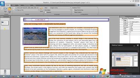 Captura de pantalla Readiris Pro para Windows 7