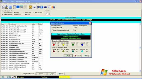 Captura de pantalla ScanTool para Windows 7