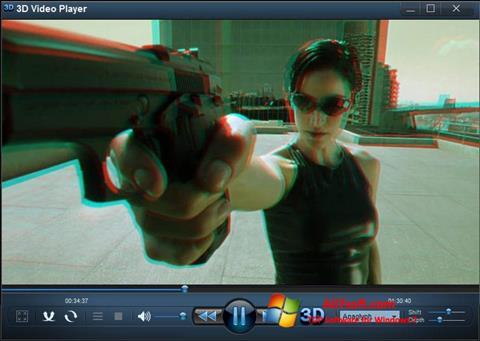 Captura de pantalla 3D Video Player para Windows 7