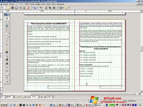 Captura de pantalla Scribus para Windows 7