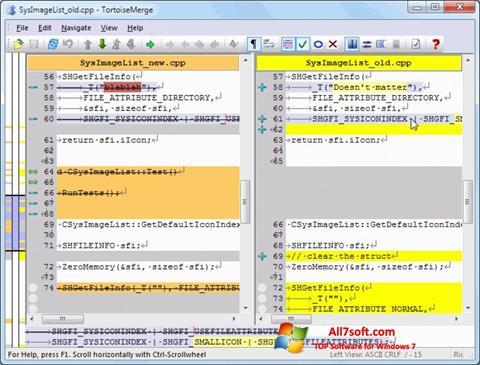 Captura de pantalla TortoiseSVN para Windows 7