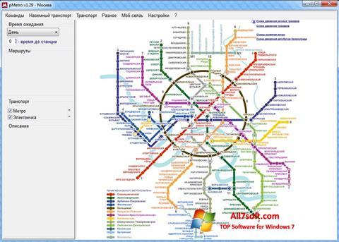 Captura de pantalla pMetro para Windows 7