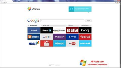 Captura de pantalla Orbitum para Windows 7