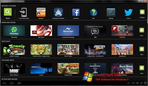 Captura de pantalla BlueStacks para Windows 7