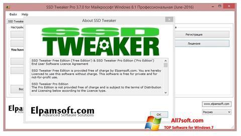 Captura de pantalla SSD Tweaker para Windows 7