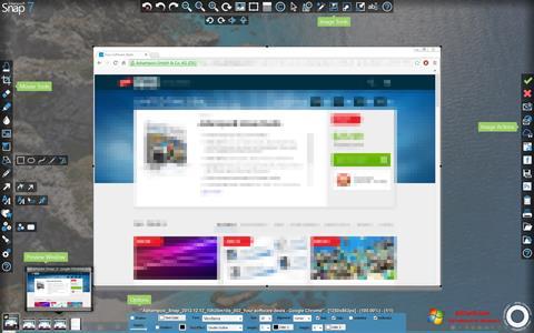 Captura de pantalla Ashampoo Snap para Windows 7