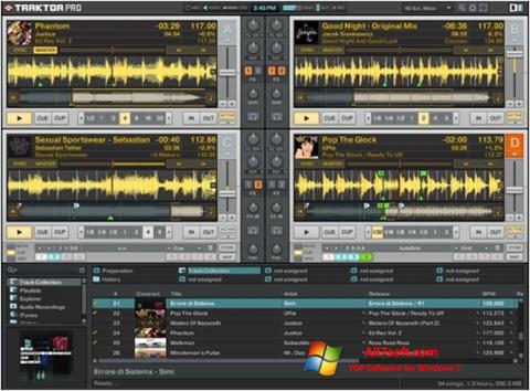 Captura de pantalla Traktor PRO para Windows 7