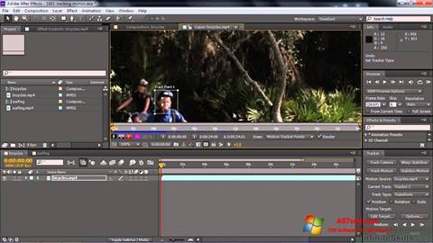 Captura de pantalla Adobe After Effects CC para Windows 7