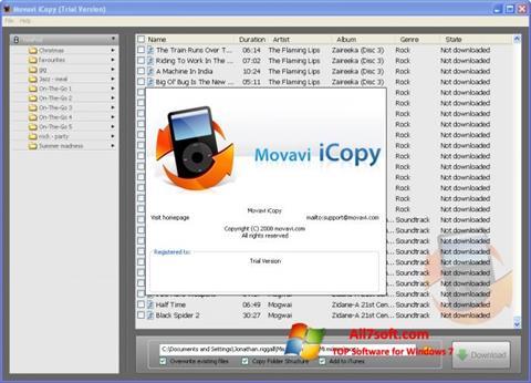 Captura de pantalla iCopy para Windows 7