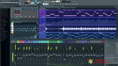 Captura de pantalla FL Studio para Windows 7