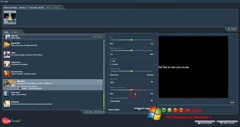 Captura de pantalla muvee Reveal para Windows 7