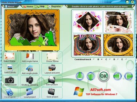 Captura de pantalla Photo Booth para Windows 7