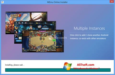 Captura de pantalla MEmu para Windows 7