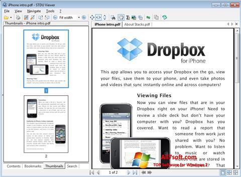 Captura de pantalla STDU Viewer para Windows 7