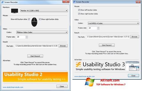 Captura de pantalla Rylstim Screen Recorder para Windows 7