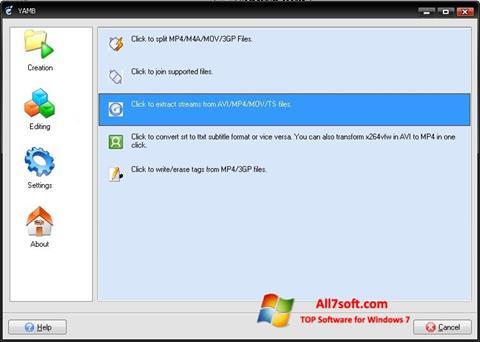 Captura de pantalla Yamb para Windows 7