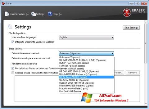 Captura de pantalla Fast Folder Eraser para Windows 7