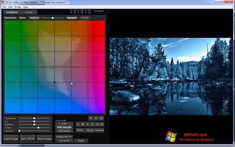 Captura de pantalla 3D LUT Creator para Windows 7