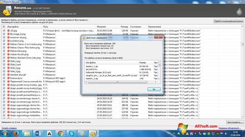 Captura de pantalla Recuva para Windows 7