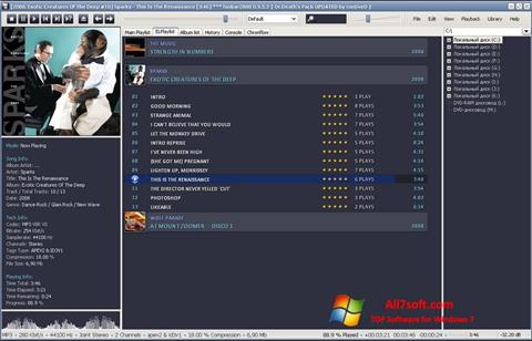 Captura de pantalla Foobar2000 para Windows 7