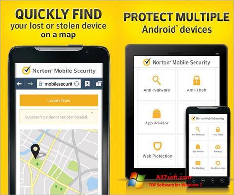 Captura de pantalla Norton Mobile Security para Windows 7