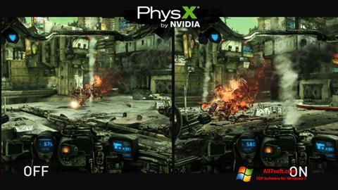 Captura de pantalla NVIDIA PhysX para Windows 7