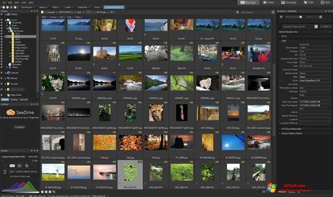 Captura de pantalla ACDSee para Windows 7