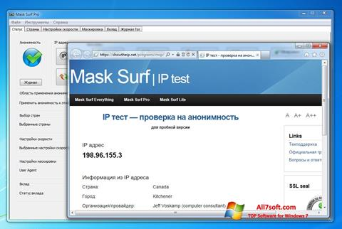 Captura de pantalla Mask Surf para Windows 7