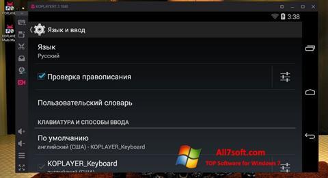 Captura de pantalla KOPLAYER para Windows 7