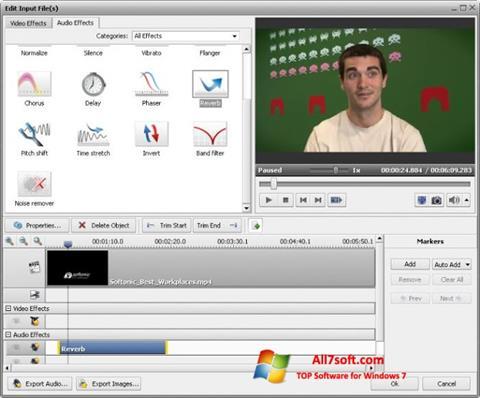Captura de pantalla AVS Video Converter para Windows 7