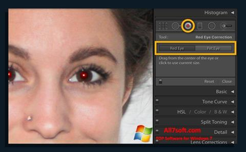 Captura de pantalla Red Eye Remover para Windows 7