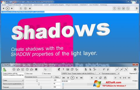 Captura de pantalla BluffTitler para Windows 7