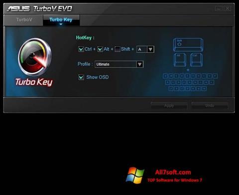 Captura de pantalla TurboV EVO para Windows 7