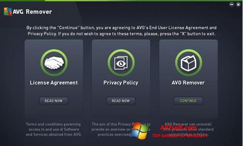 Captura de pantalla AVG Remover para Windows 7