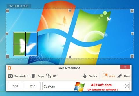 Captura de pantalla ScreenShot para Windows 7
