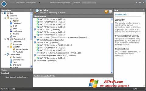 Captura de pantalla WinGate para Windows 7