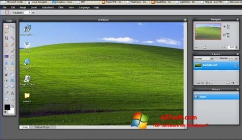 Captura de pantalla LightShot para Windows 7