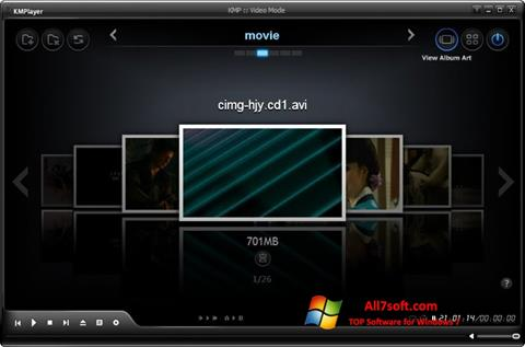 Captura de pantalla KMPlayer para Windows 7