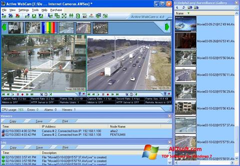 Captura de pantalla Active WebCam para Windows 7
