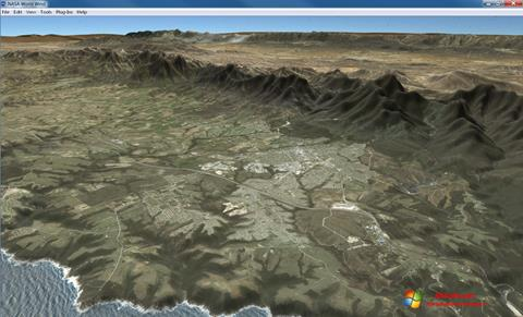 Captura de pantalla NASA World Wind para Windows 7
